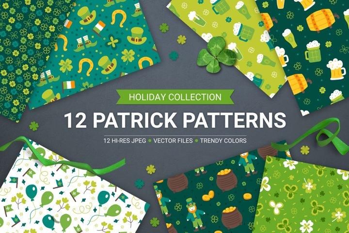 12 St. Patricks Day Patterns