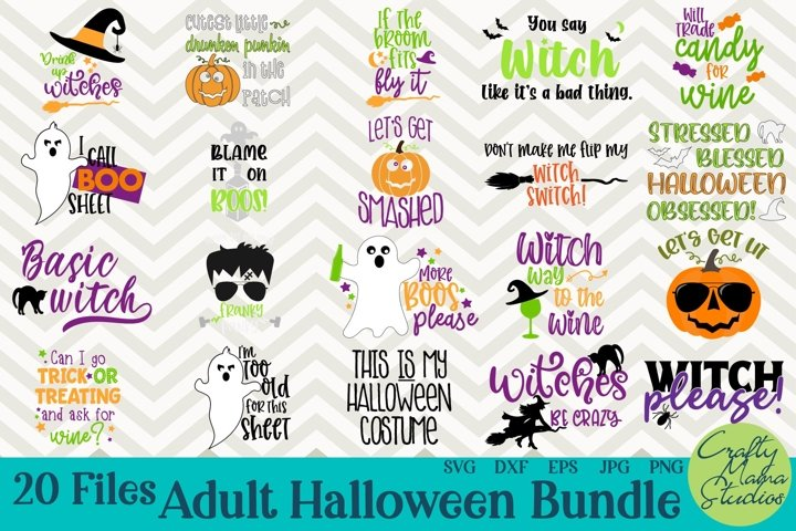 Halloween Bundle Svg, Funny Adult Halloween Bundle