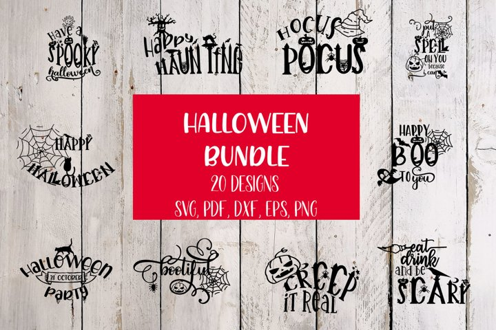 Halloween Bundle SVG Cut File