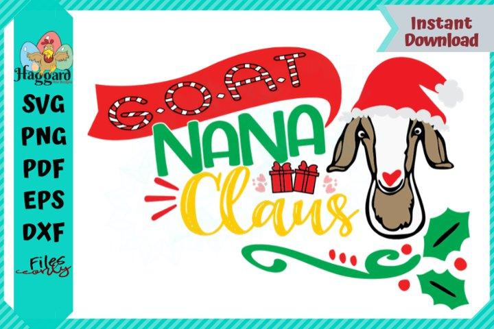 G.O.A.T NANA Claus