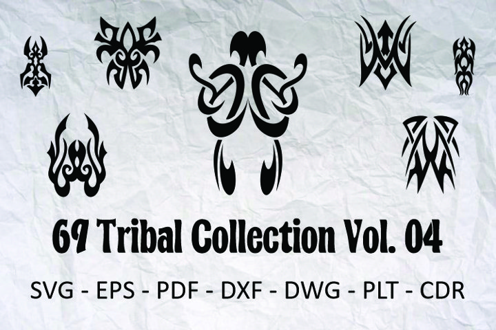69 Tribal Collection Vol. 04