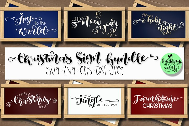 Christmas sign svg bundle, christmas sign svg