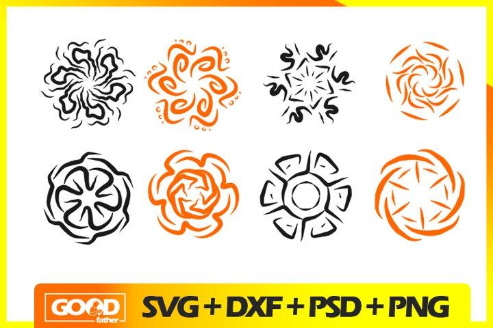 Mandala Bundle SVG PNG EPS DXF SILHOUETTE