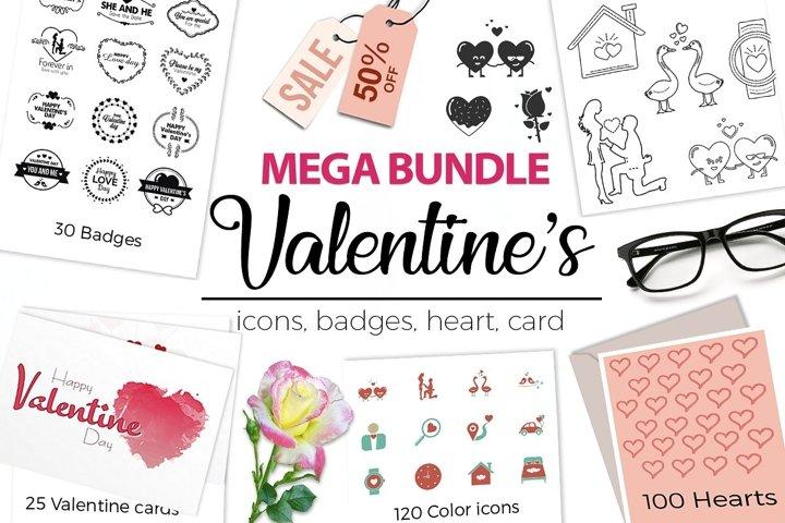 Valentines Designs Mega Bundle