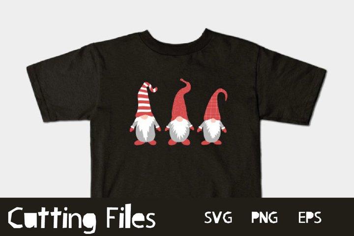 Cute gnomes - A Christmas SVG Cut File