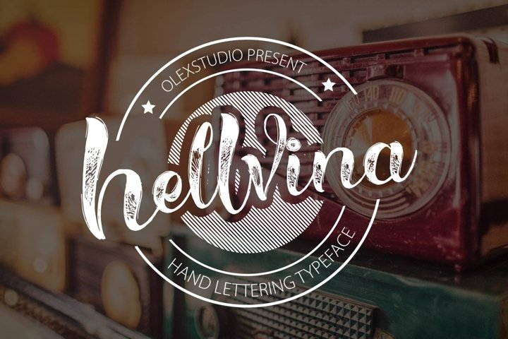 HELLVINA SCRIPT - Free Font of The Week Font