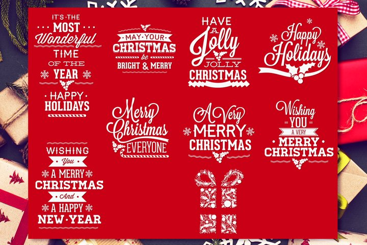 Christmas Quotes SVG Pack | Christmas SVG Cut Files