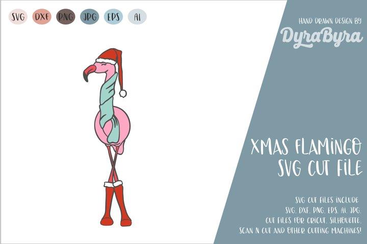 FLAMNGO CHRSTMAS SVG / CHRISTMAS SVG