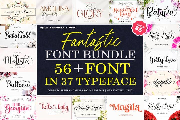 Fantastic Font Bundle