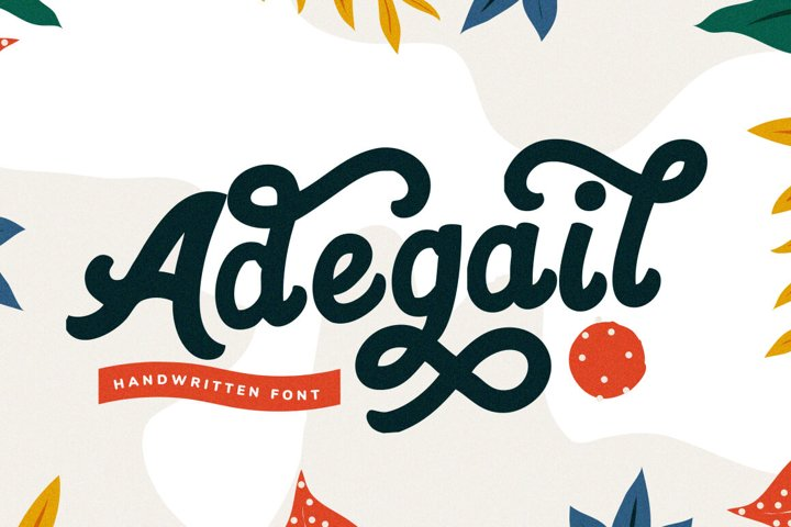 Adegail - Fun Handwriting Fonts