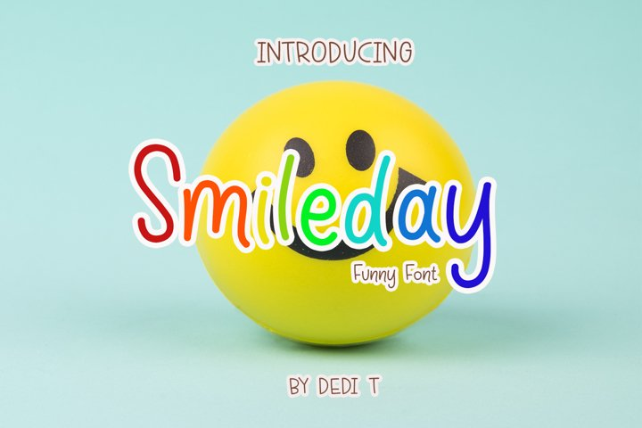 Smileday Funny Font