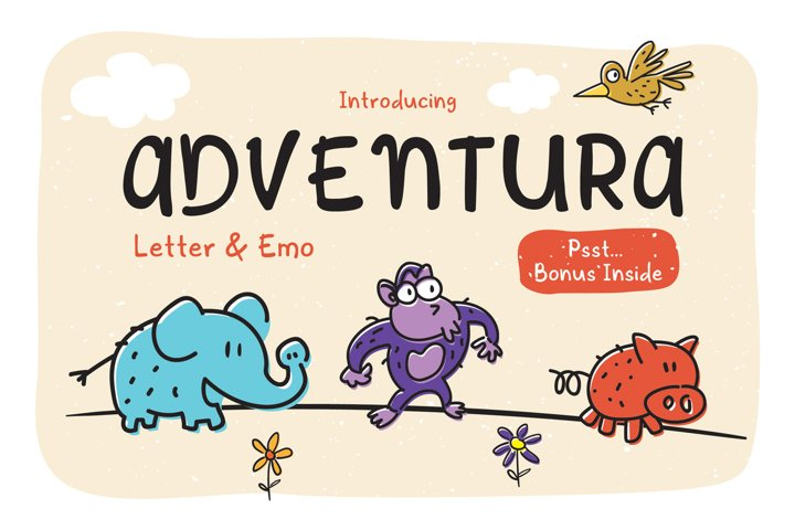 Adventura Letter and Emo