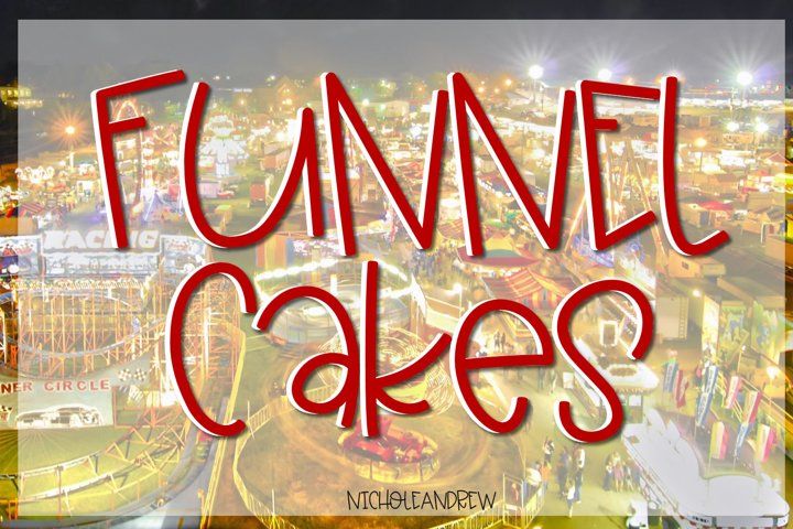 Funnel Cakes Font