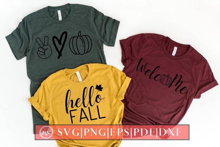 Fall Mini SVG Design - 2