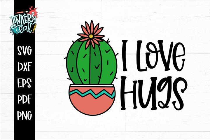 I love Hugs SVG