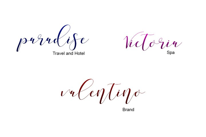 Shania Sweet Calligraphy Modern - Free Font of The Week Design2