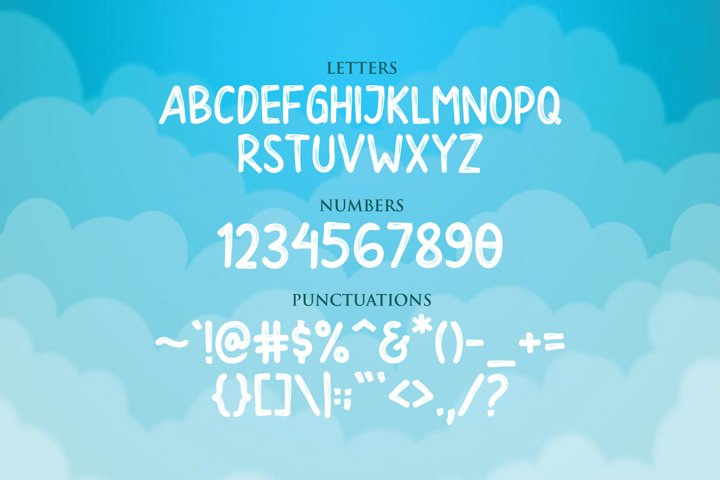Danzo Typeface example 5