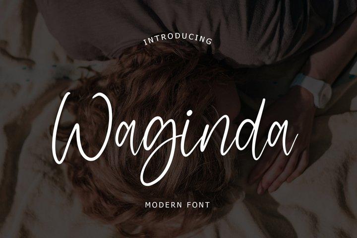 Waginda Modern Font