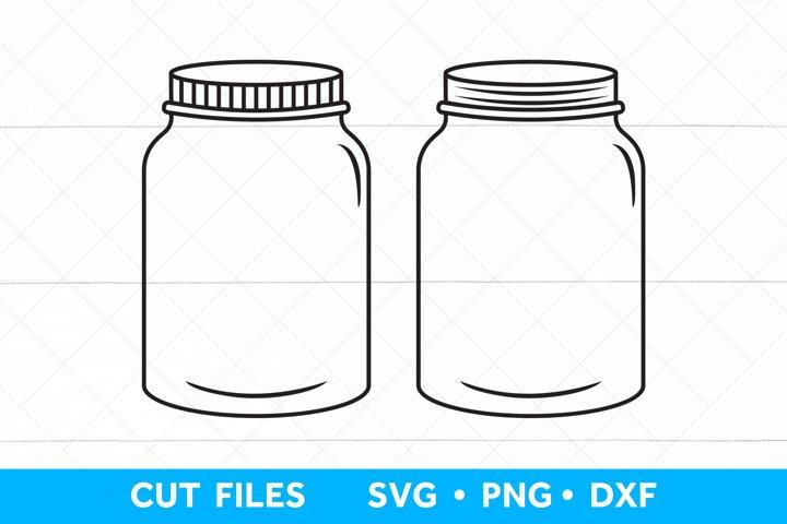 Mason Jar SVG file, Mason Jar Printable