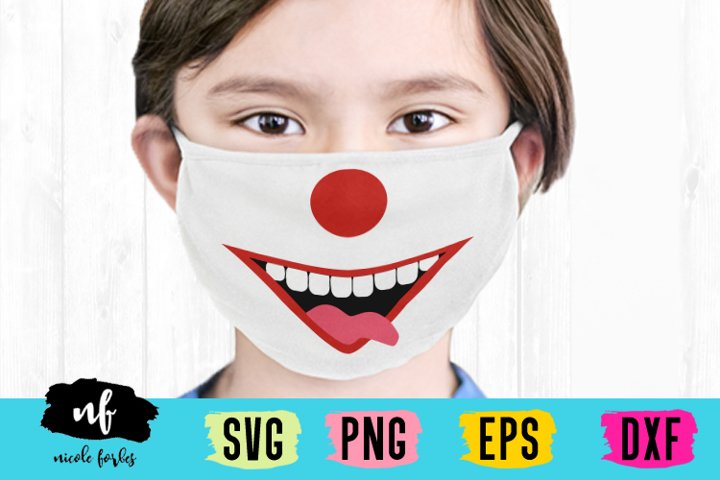 Halloween Costume Mask SVG