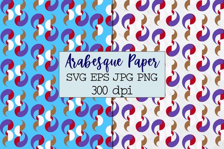 Boho paper SVG