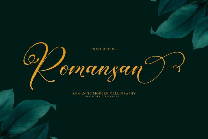 Romansan | Romantic Calligraphy