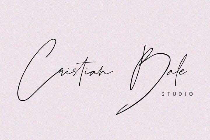 Juliette - Stylish Handwritten Signature Font example 1