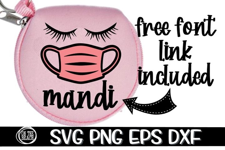 Mask Storage - Listing photo on Earbud Case -SVG PNG EPS DXF