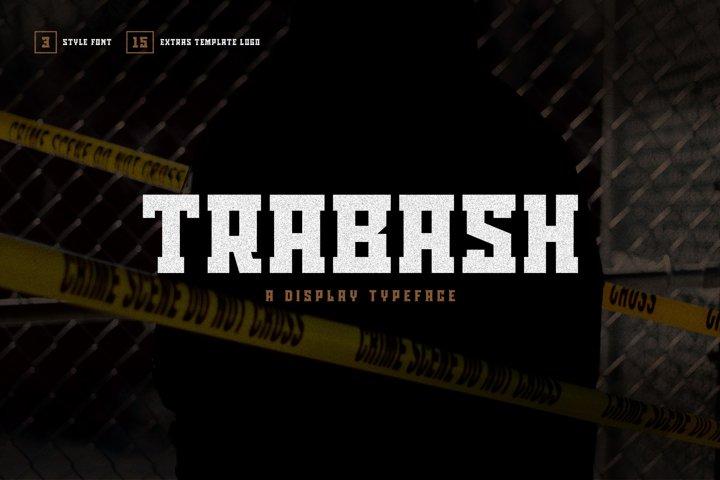 Trabash Font & Extras