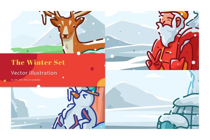 The Winter Illustration Set