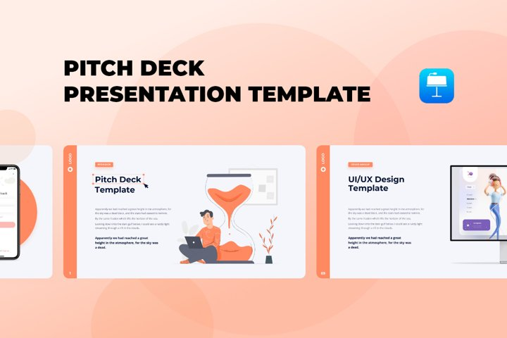 Pitch Deck - Smooth Animated Keynote Template