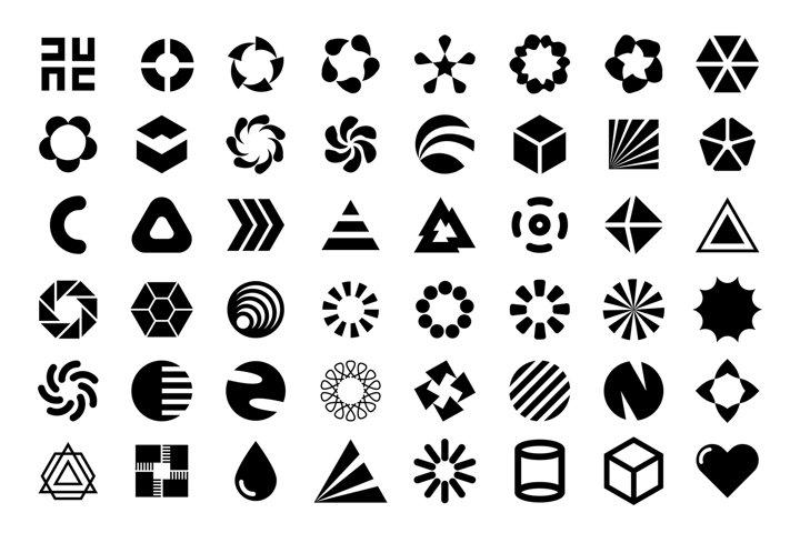 Flat logo presets