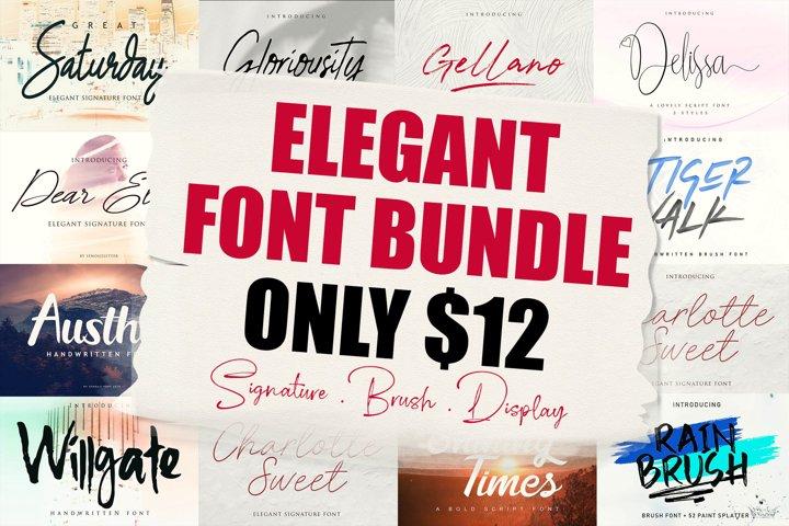 Elegant Font Bundle