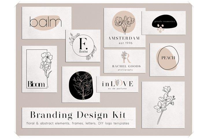 Branding Design Kit - DIY Logo
