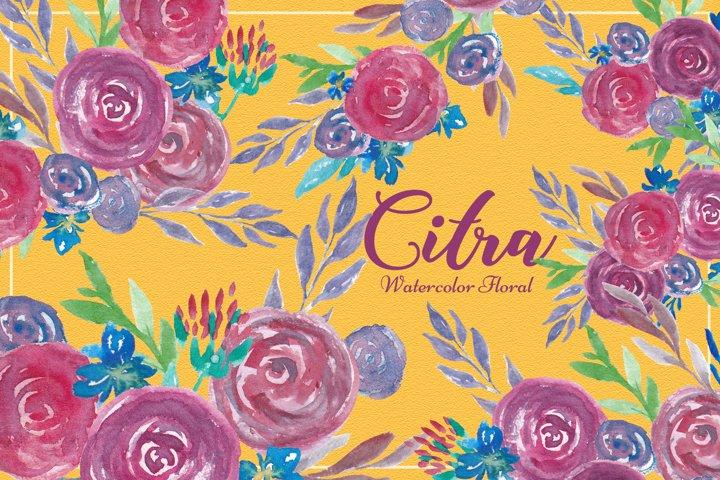 Citra Watercolor Floral