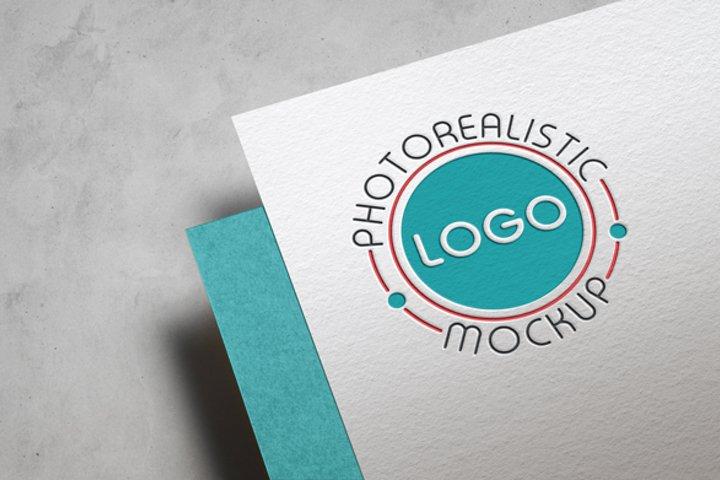 Logo Mock-Up Paper Edition
