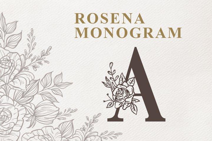 Rosena Monogram