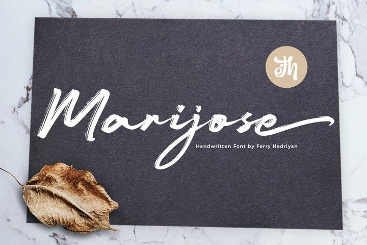 Marijose - Handwritten Font