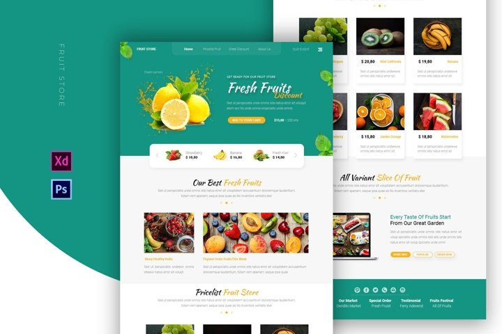 Fruit Store | Email Newsletter Template