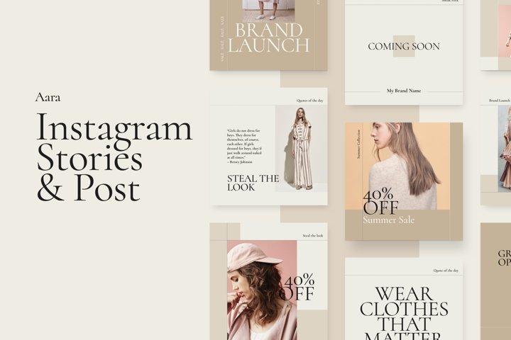 Aara - Instagram Stories and Post