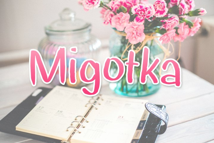 Migotka Font