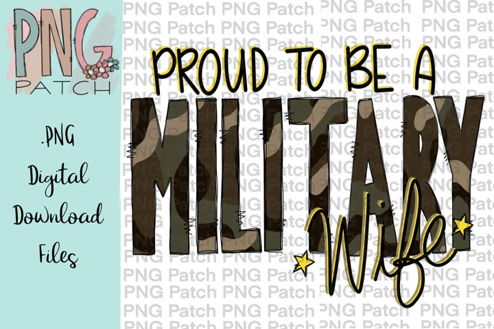 Proud to be a Military Wife, Military PNG Files