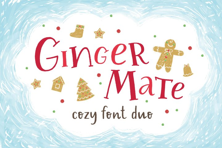 Ginger Mate Latin & Cyrillic fonts