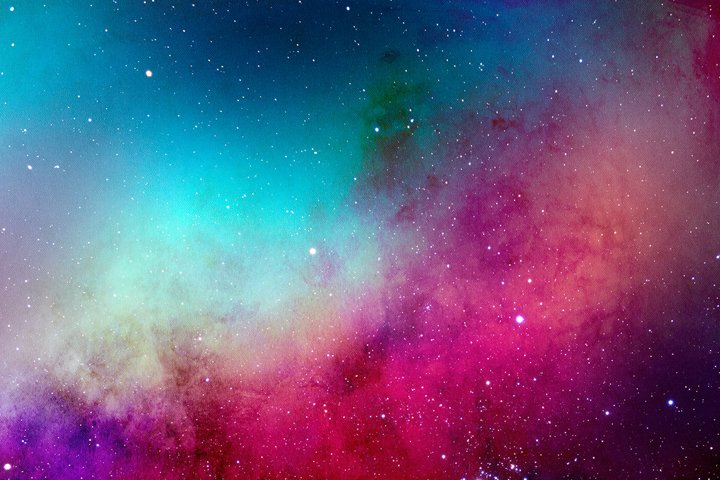 Space Watercolor Backgrounds - Free Design of The Week Design9