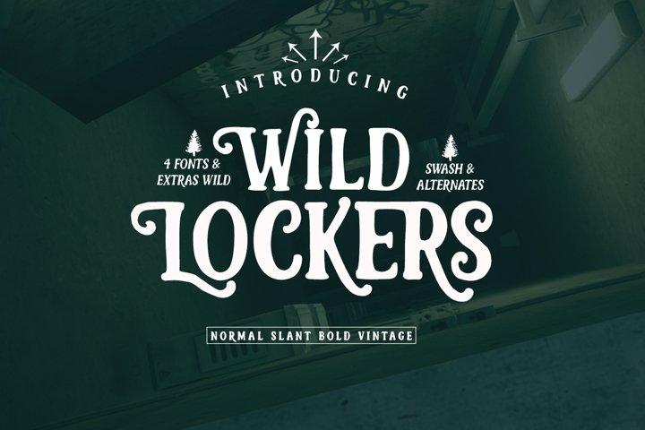 Lockers Font