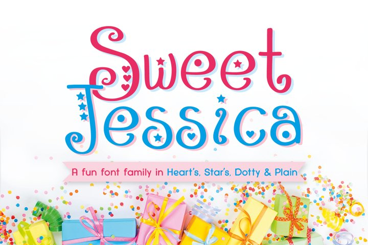 Sweet Jessica - Free Font Of The Week