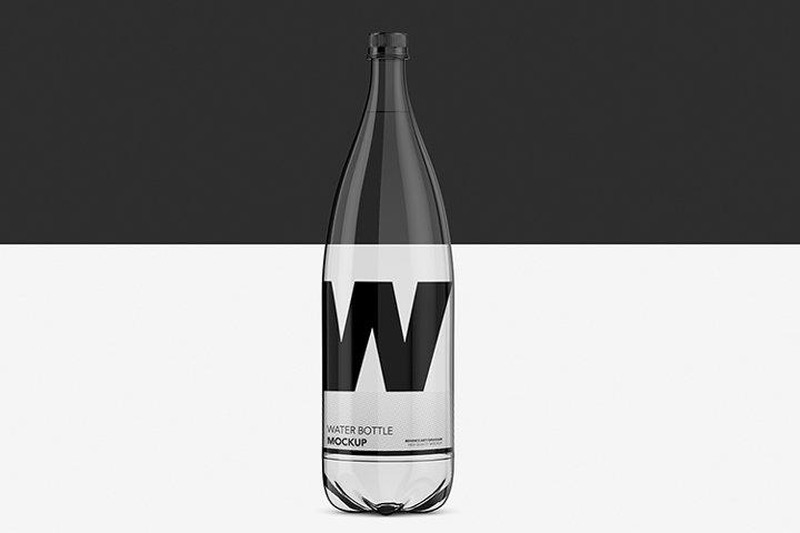 Water Bottle Pet - Mockup