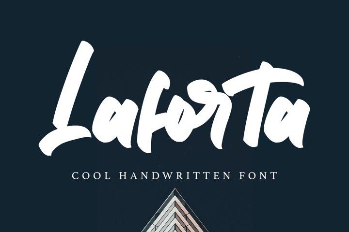 Laforta - Script Bold Fonts