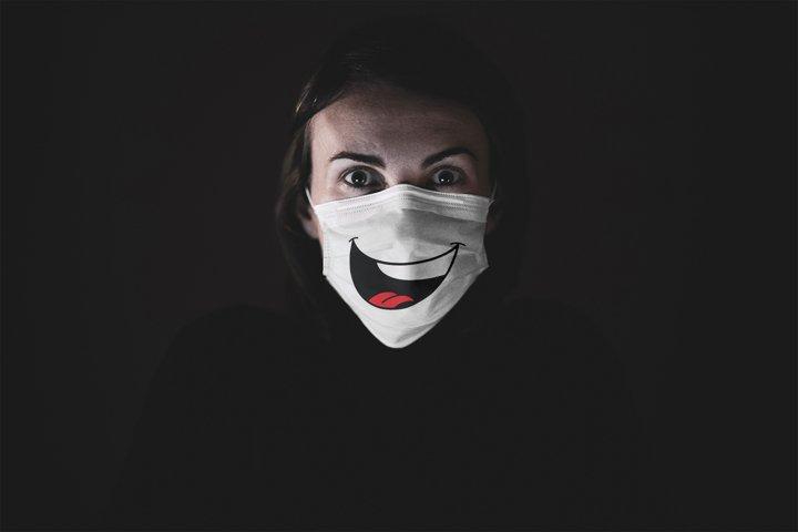 Funny Face Mask SVG Bundle, 14 Funny Designs for Mask - Free Design of The Week Design5