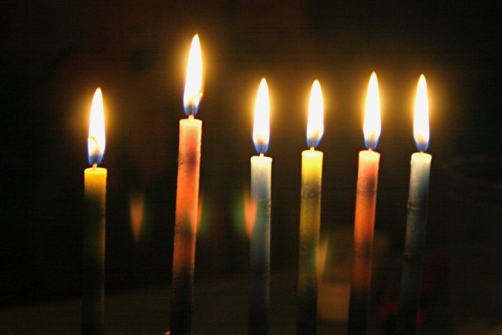 Candles Glow